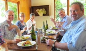 Lunch on the Wine Tour is always relaxed