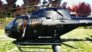 Helicopter is a great way to cover a lot of ground. Heli Hop n Grape Marlborough