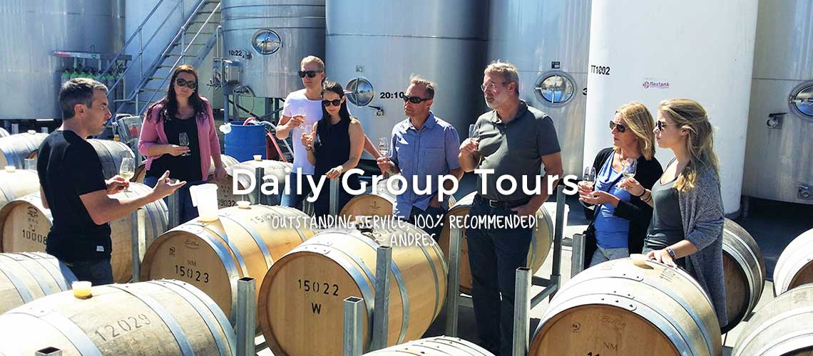 Our Tours – With a Winemaker